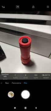 Xiaomi Mi 9 aplikace fotoaparat miui 10