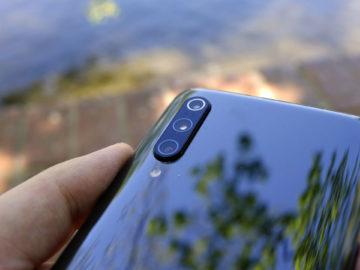 Xiaomi Mi 9 fotoaparat