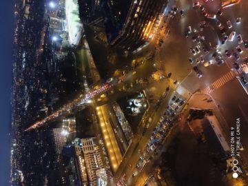 Xiaomi Mi 9 fotografie nočni pariz