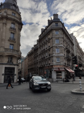 Xiaomi Mi 9 fotografie ulice pariz