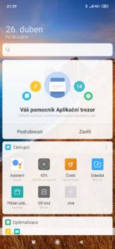 Xiaomi Mi 9 MIUI 10 menu