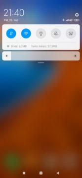 Xiaomi Mi 9 MIUI 10 notifikace