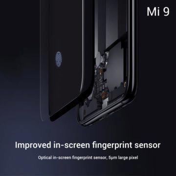Xiaomi Mi 9 opticka ctecka otisku prstu