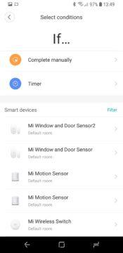 Xiaomi Mi Smart Sensor Set Mi Home automatizace if