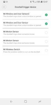 Xiaomi Mi Smart Sensor Set Mi Home device