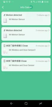 Xiaomi Mi Smart Sensor Set Mi Home info center