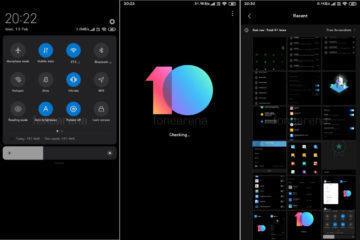 Xiaomi MIUI 10 tmavy rezim