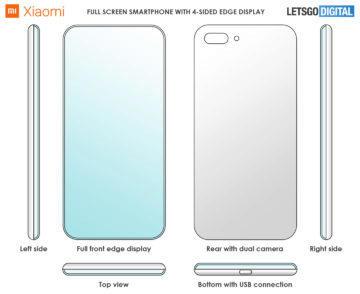 xiaomi patent bezrameckovy telefon