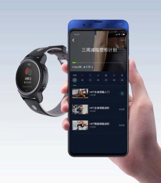 xiaomi yunmai aplikace telefon