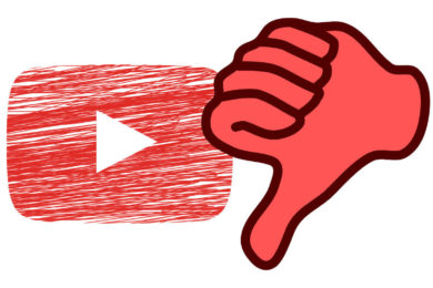 youtube dislajk palec dolu zruseni
