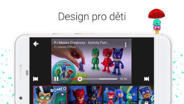 youtube kids design pro deti