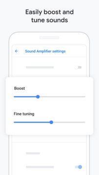 Zesilovač zvuku aplikace
