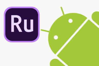 adobe premiere rush android aplikace