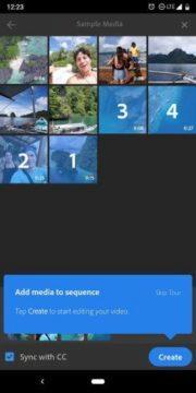 adobe premiere rush aplikace android