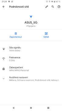 Android Q podrobnosti site