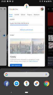 Android Q posledni aplikace