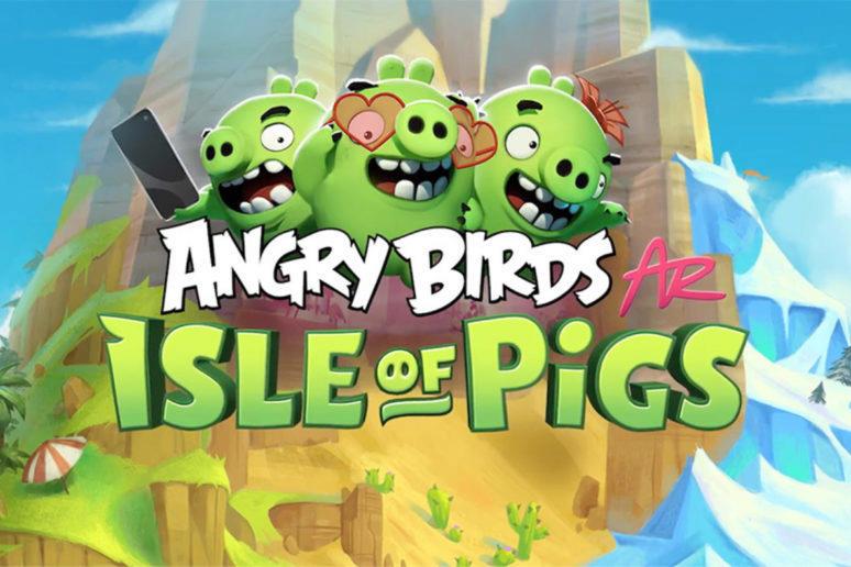 angry birds ar hra