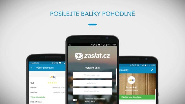 Aplikace Zaslat.cz – pohodlná správa balíčků ve vaší kapse