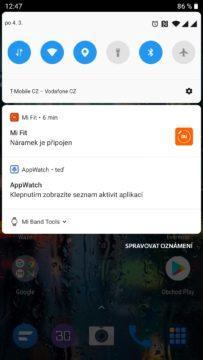 AppWatch čeká v notifikacích - stačí na ni klepnout