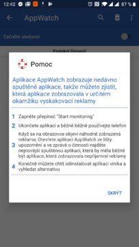 AppWatch vše hezky česky vysvětlí