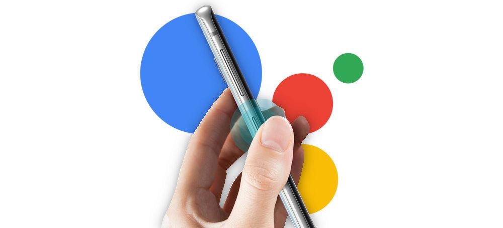 bixby tlacitko asistent google