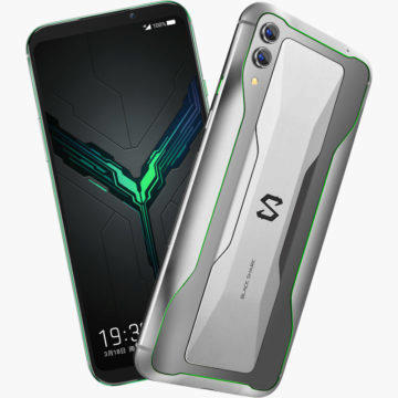 black shark 2 design herního telefonu