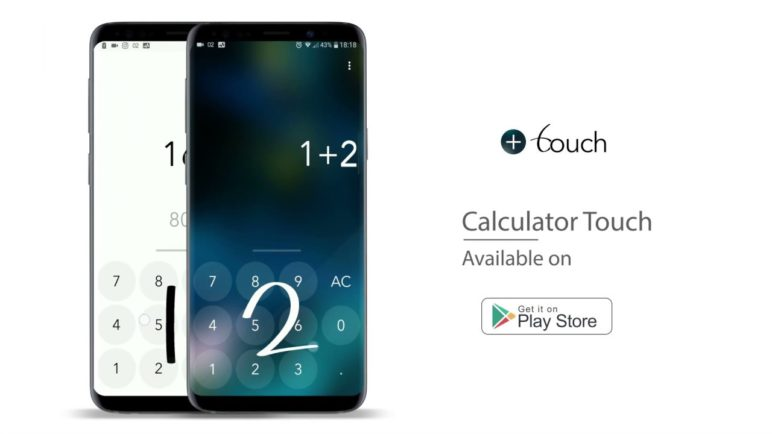 Calculator Touch - With handwriting recognition for Android