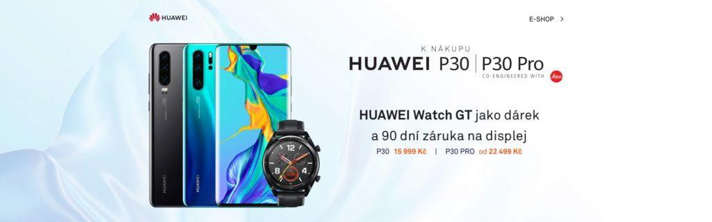 cena huawei P30 pro hodinky zdarma