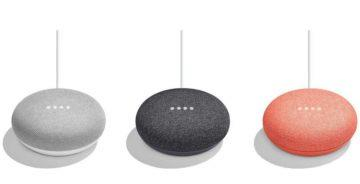 Chytré reproduktory Google Home Mini