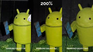 denni fototest Samsung galaxy s10 vs galaxy s9 vs s8 android postava detail