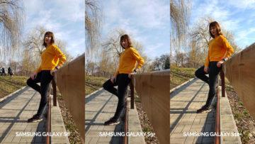 denni fototest Samsung galaxy s10 vs galaxy s9 vs s8 fotografie s modelkou