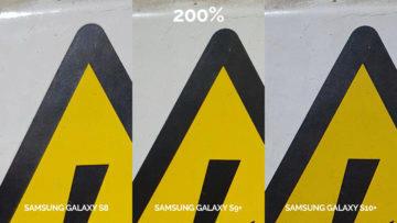 denni fototest Samsung galaxy s10 vs galaxy s9 vs s8 pozor elektřina detail