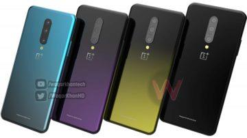 design oneplus 7 render