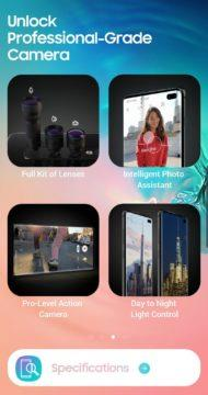 Experience app for Galaxy S10