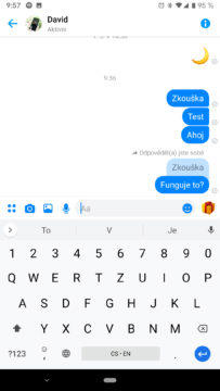 Facebook Messenger skupinove chaty citace