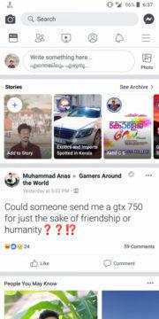 Facebook redesign bila barva