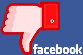 facebook vypadek socialni site
