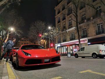 Ferrari huawei p30 pro fotografie