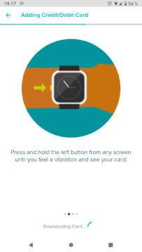 Fitbit Pay Revolut aktivace placení přes hodinky