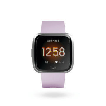fitbit versa design displej