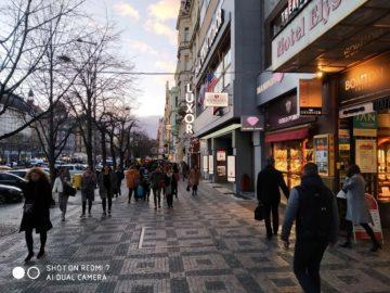 Fotografie Xiaomi Redmi 7 ulice