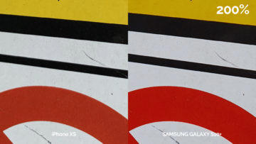 Fototest Galaxy S10 Plus vs iPhone XS - makro detail