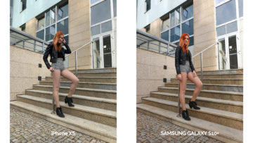 Fototest Galaxy S10 Plus vs iPhone XS - ženská postava