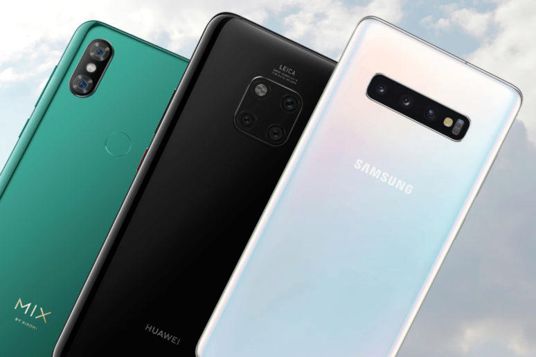 fototest galaxy s10 vs mate 20 pro vs mi mix 3