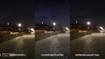 fototest galaxy s10 vs mi mix 3 vs mate 20 pro noc karlův most