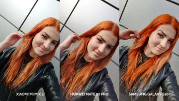 fototest galaxy s10 vs mi mix 3 vs mate 20 pro selfie