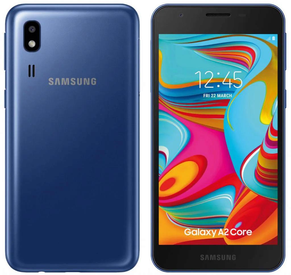 Samsung Chystá Ultra Levný Telefon Galaxy A2 Core Bude Mít Android Go