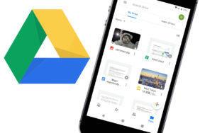 google disk redesign