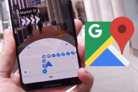 google mapy AR