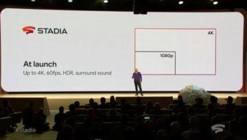 Google Stadia 4k rozlišení 60 fps hdr